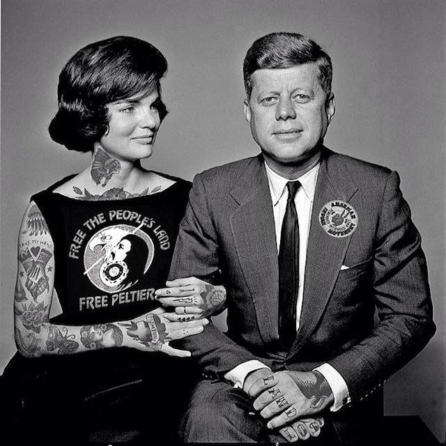 Old And Comtemporary Celebrities Covered In Tatoos 1