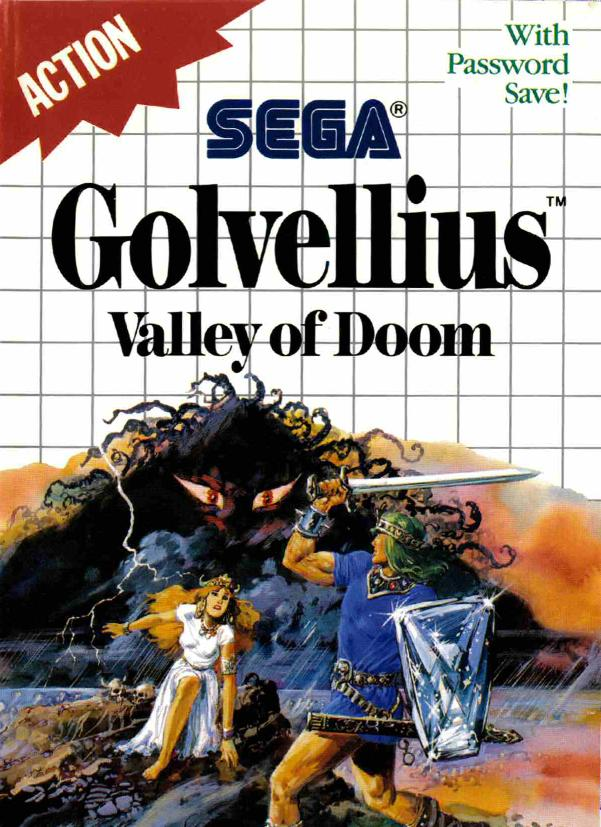 Golvellius El Mejor Rpg De Sega Master System 1