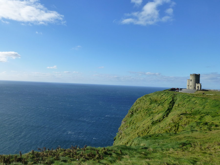 Cliffs Of Moher Tower By Hollalaya D5k5tto