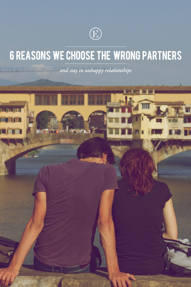 6 Reasons We Choose The Wrong Partners The Everygirl