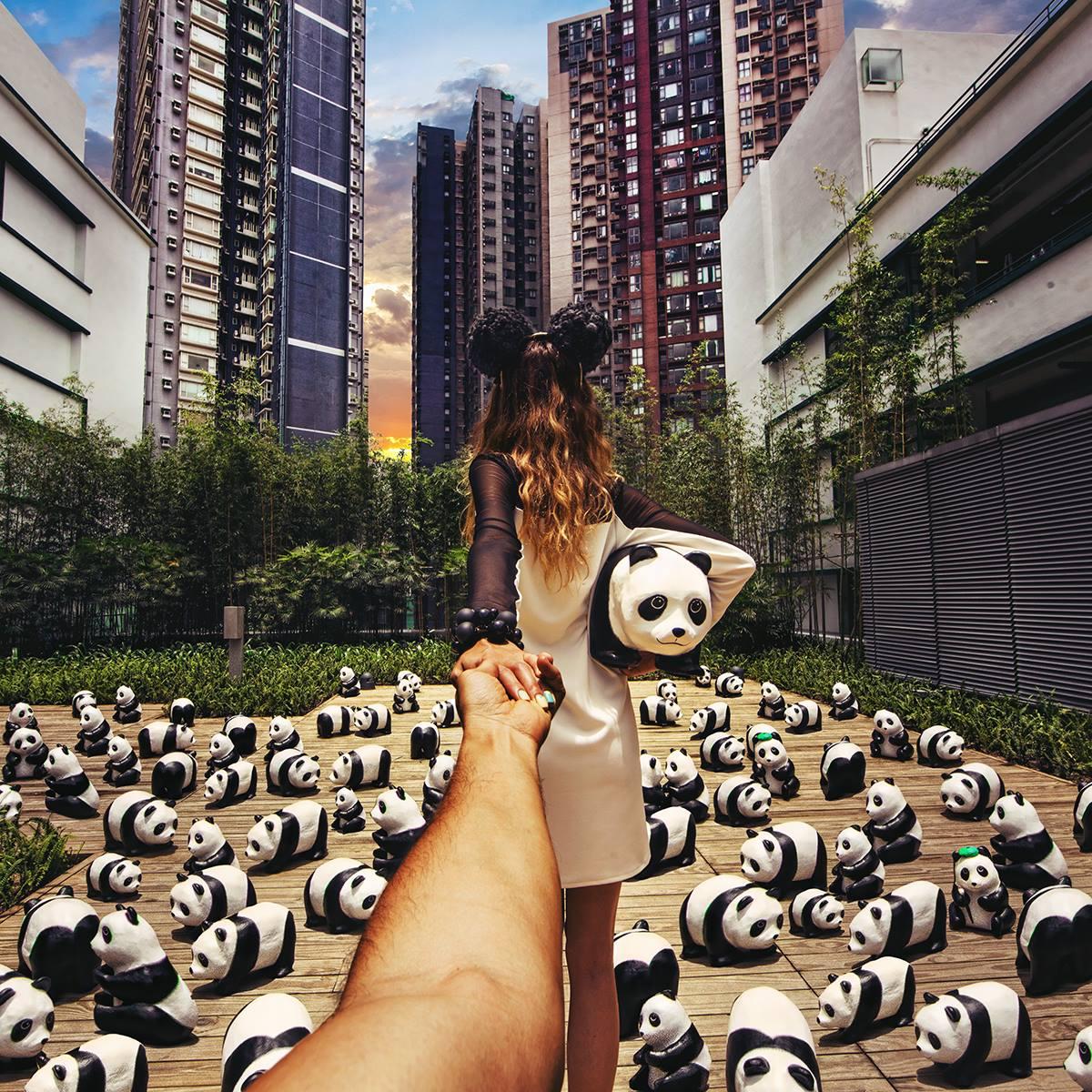 Exhibicion de la WWF en Hong Kong