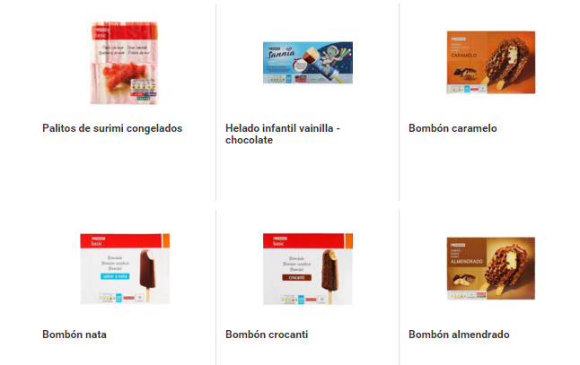 Productos Sin Gluten Eroski