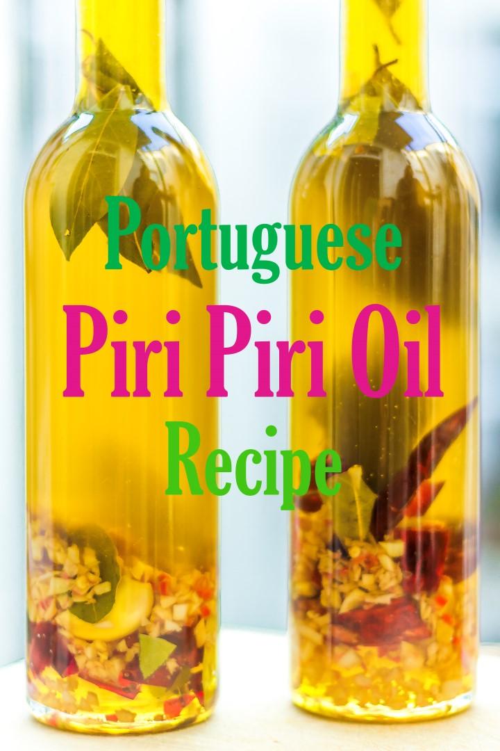 Piri Piri Oil Recipe