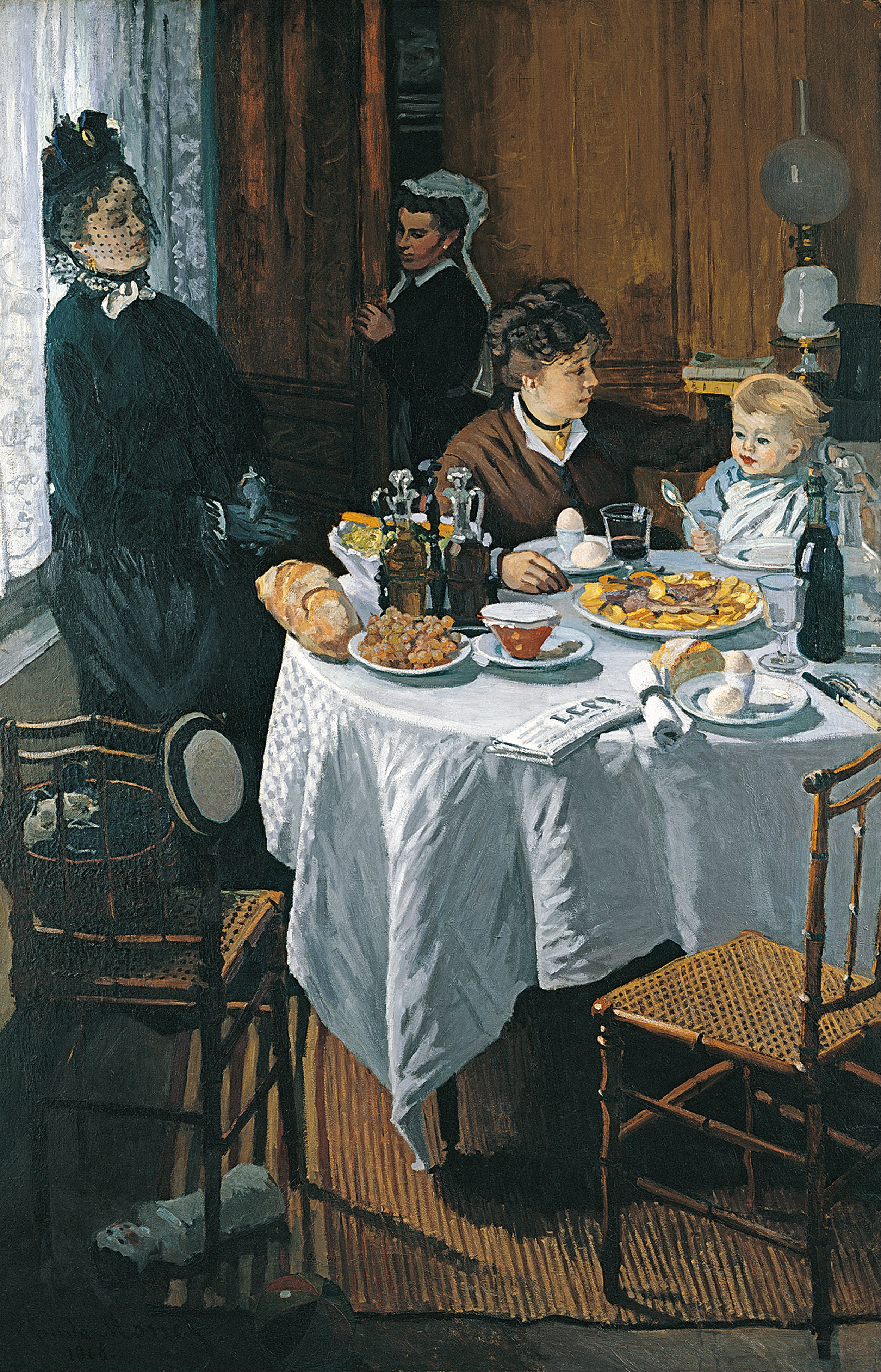 Claude Monet The Luncheon Google Art Project