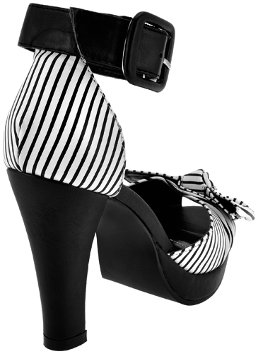Tuk19 Chaussures A Talons Marque Tuk Stripe Knot 1333630923 Dos