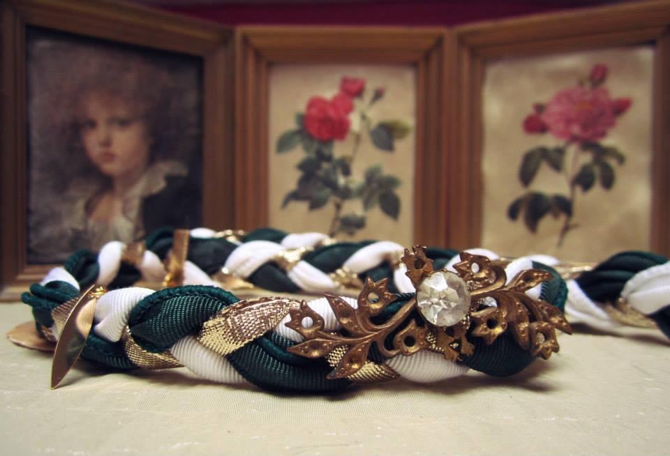 Tresse 3 En 1 Headband Collier Bracelet