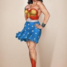 Vintage Female Superheroes