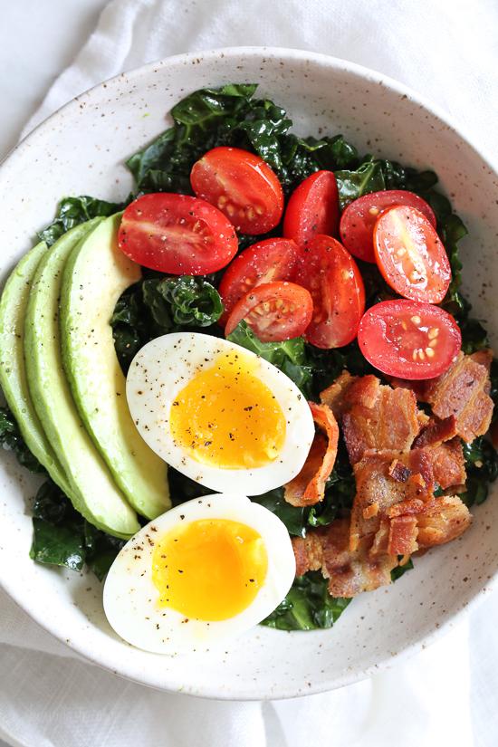 Breakfast Blt Salad 1 2