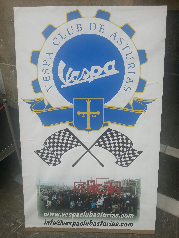 Vespa Club Asturias Blue Hoteles Gijion
