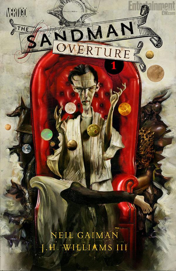 The Sandman Overture #1 según Dave McKean.