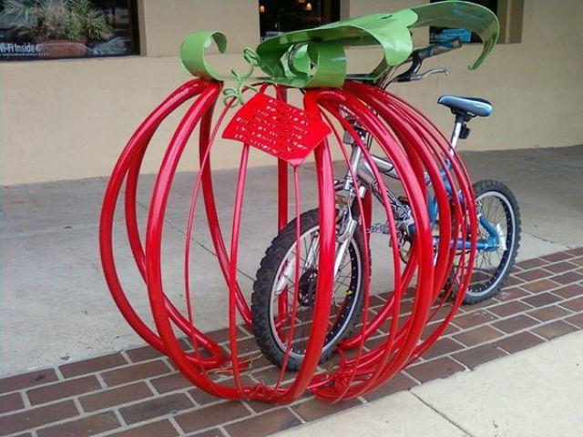 Originales Estacionamientos Para Bicicletas 1