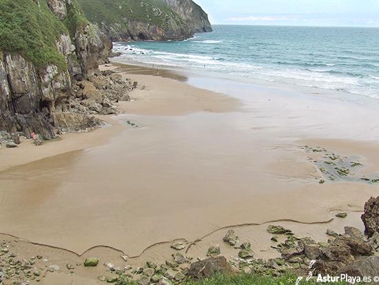 Vidiago Beach Llanes Asturias Western Side