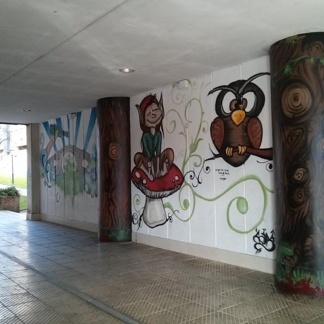 En Oviedo Streetart Arteenlacalle Graffiti Asturias