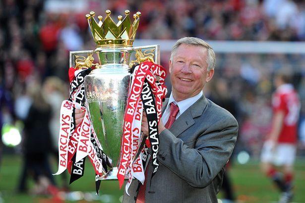 2011 Premier League Sir Alex Ferguson