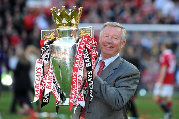 2011 Premier League Sir Alex Ferguson