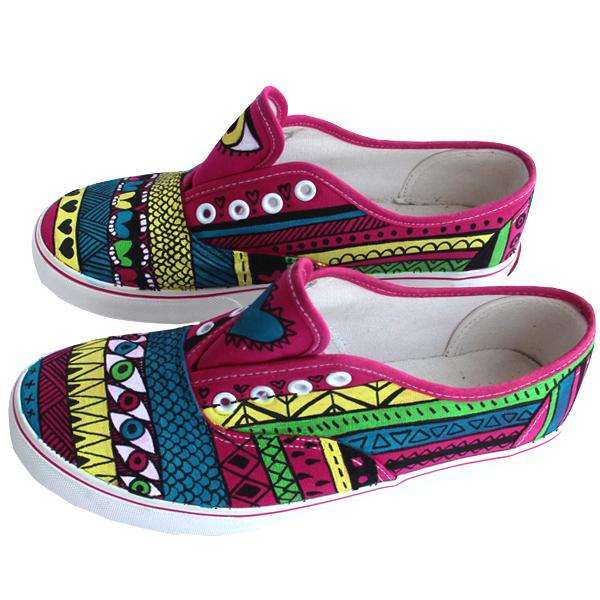 Aztecas Sneakers Zapatillas Pnitas1