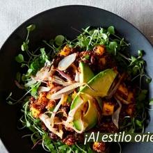 Ensalada de quinoa y mango