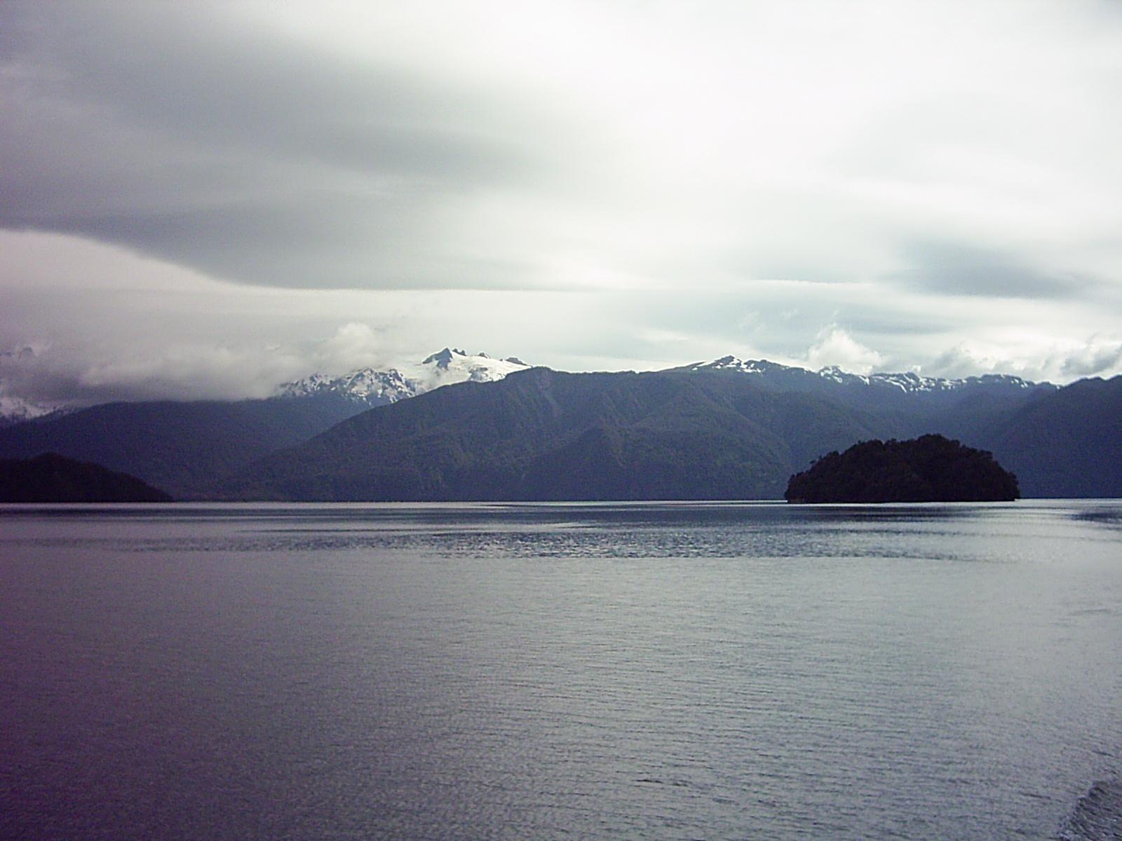 Las montañas nevadas de la Patagonia