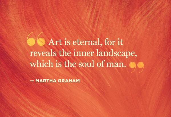 Quotes Creativity Martha Graham 600x411