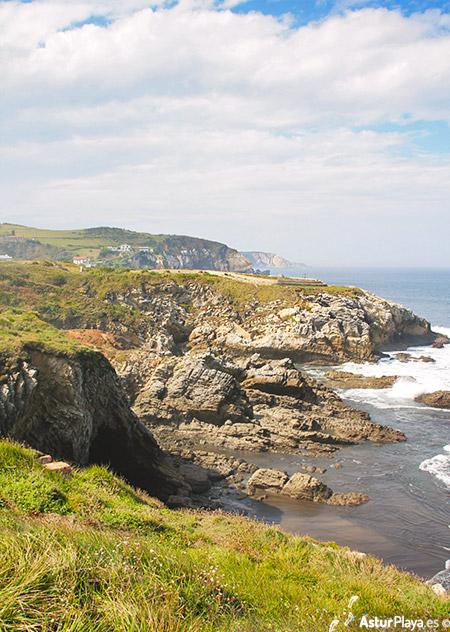 El Pedrero Beach Castrillon Asturias