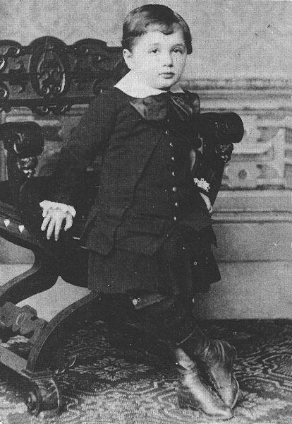 Un Jovencito Albert Einstein