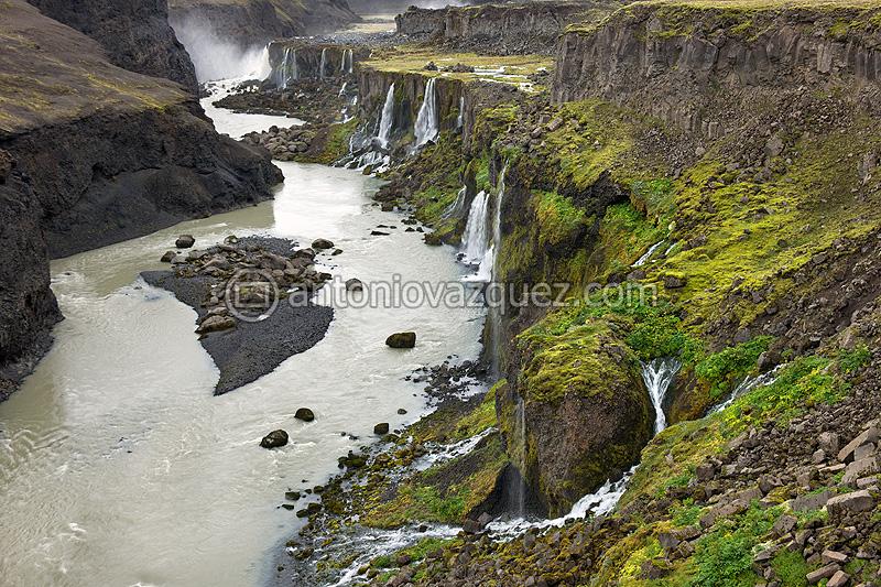 Cascadas de Hrauneyjafoss