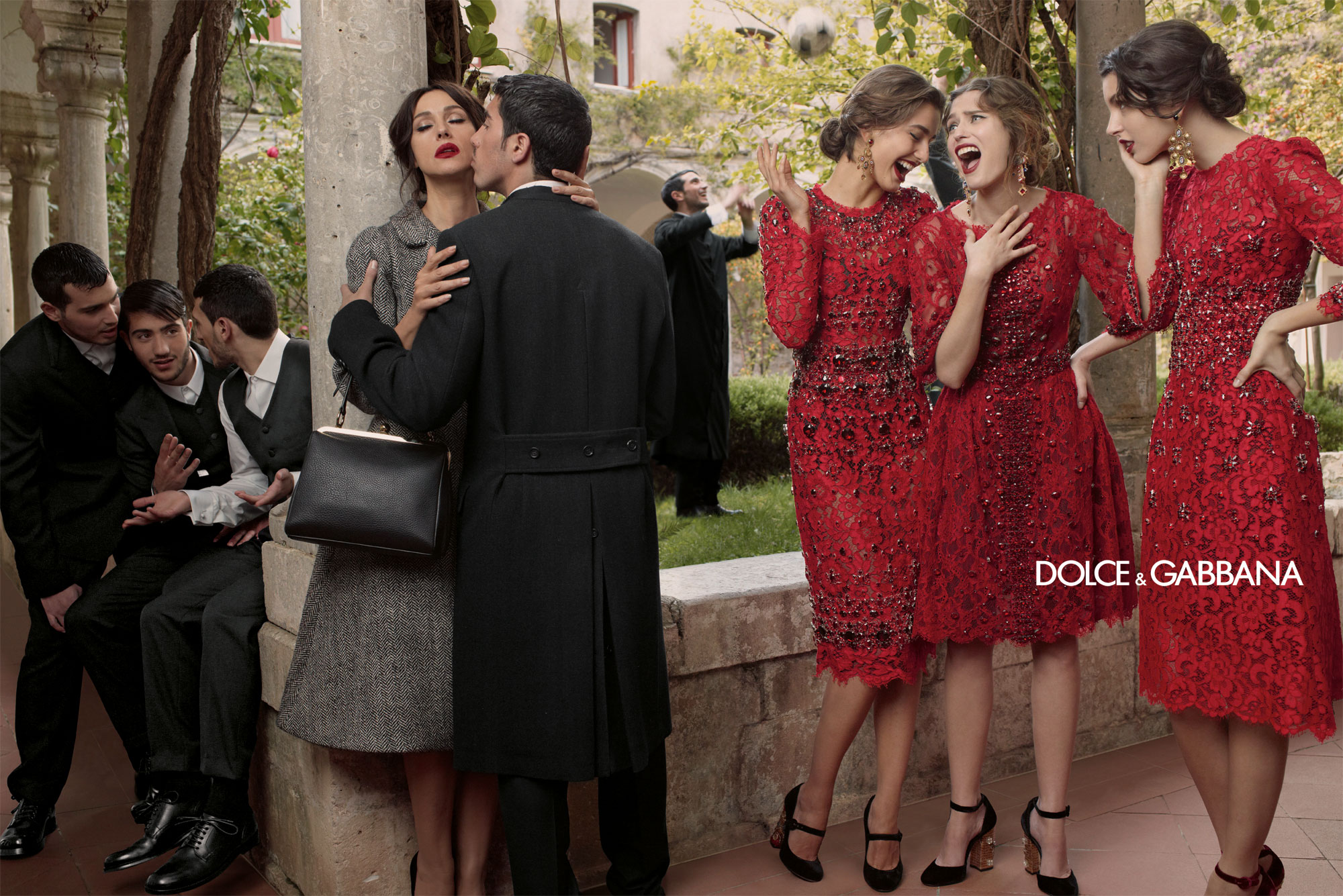 Dolce And Gabbana Fw 2014 Women Adv Campaign 6