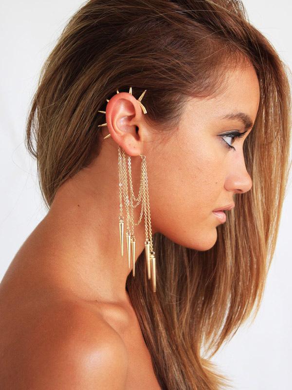 10 Cuff Earrings Ou Ear Cuff Acessorios Da Moda