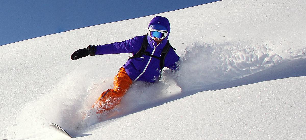 Snowboard Powder Christian Meier Kitzbuehel