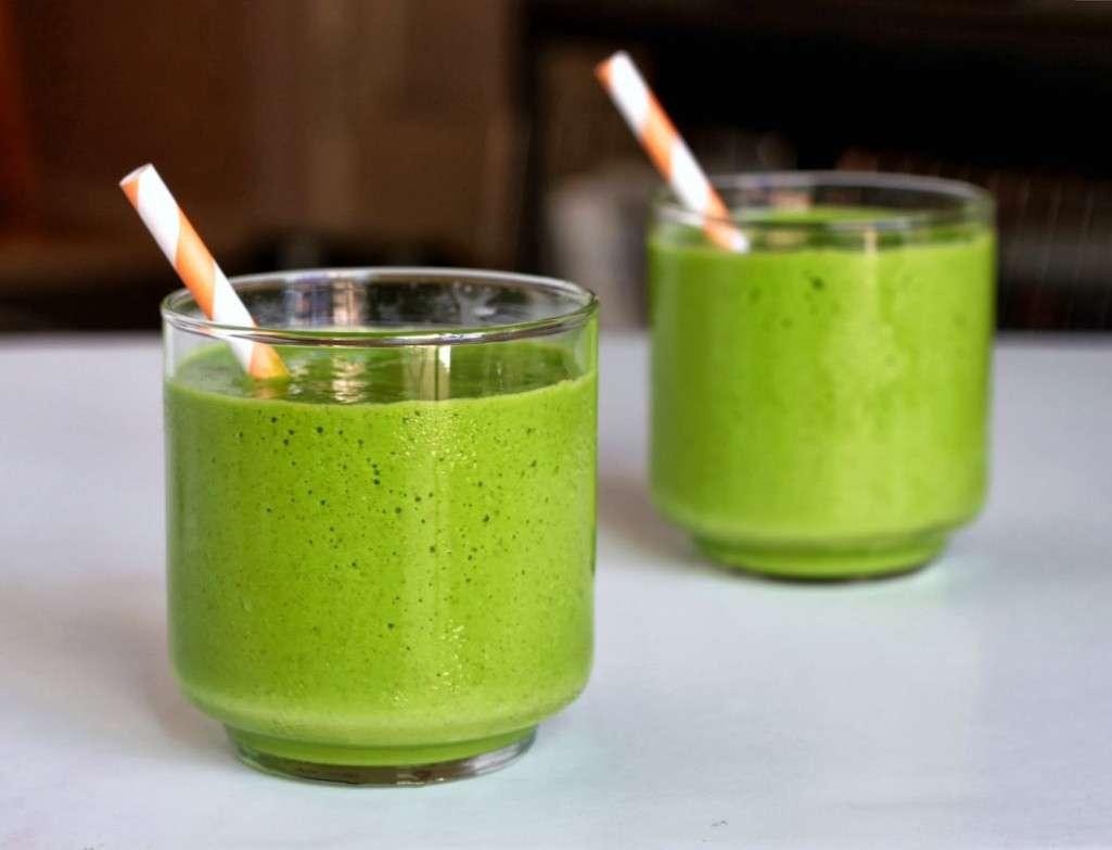 Licuado Antioxidante Te Verde Almendras Naranja