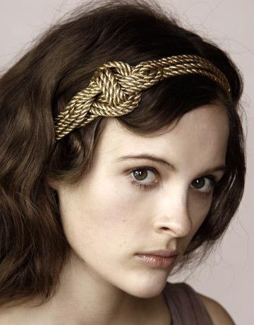 Headband Gold Twist