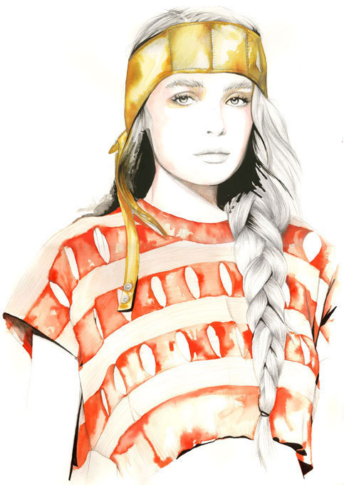 Caroline Andrieu Fashion Illustration 19 Large