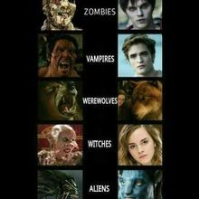 Monstruos de ayer y hoy...
