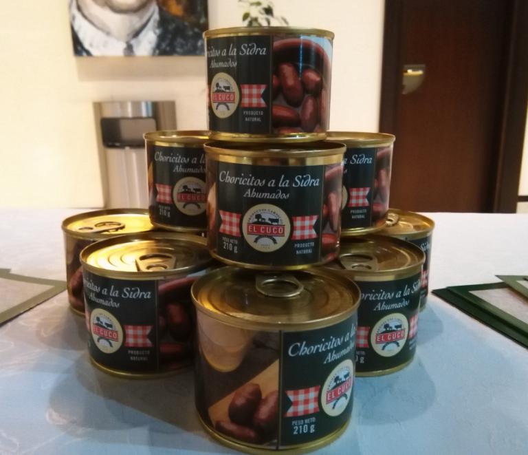 Chorizos Sidra Elcuco