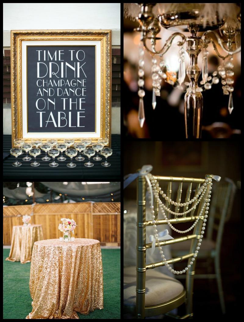 Decor Ideas For A Great Gatsby Wedding 2