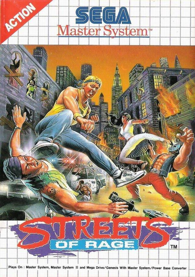 Streets Of Rage Los Macarras Toman Sega Master System 3