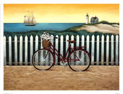 Bicicleta Junto A La Playa