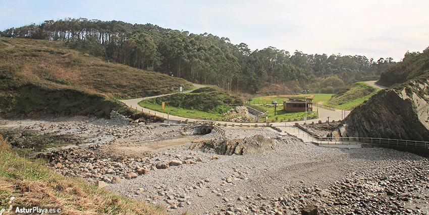 Bartolo Beach Asturias Access Road