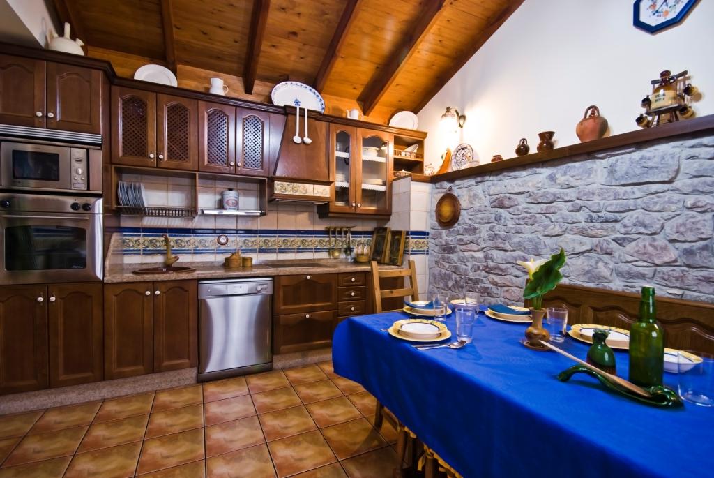 Cocina de Casa de aldea La Costica