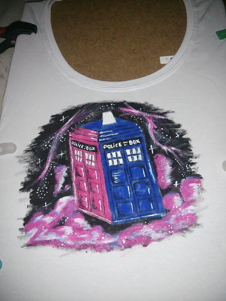 Camiseta Tardis2