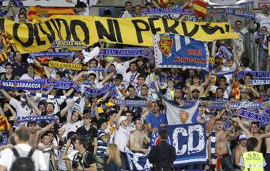 La Romareda. Real Zaragoza. (Ligallo Fondo Norte)