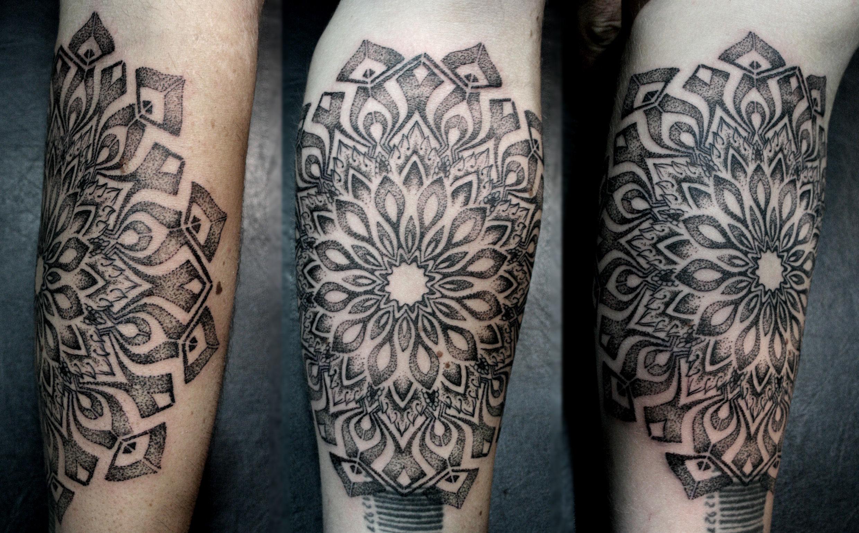Tatuajes Con Puntillismo3