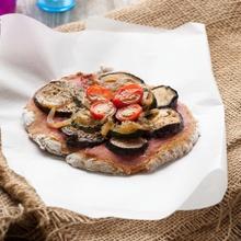 Pizzas aux légumes d'été