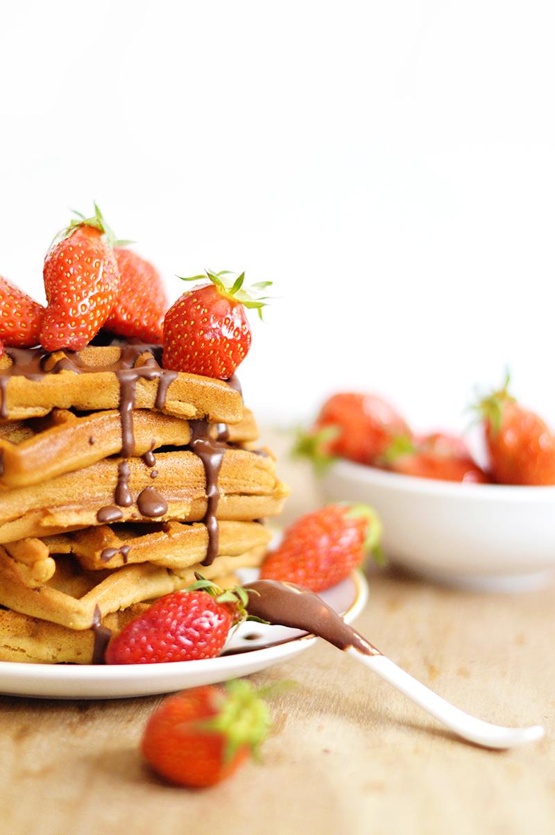 Sweet And Sour Gaufres Vegan Sans Gluten Rapide Facile 1