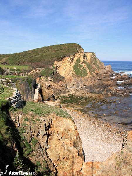Represas Beach Asturias Western Side