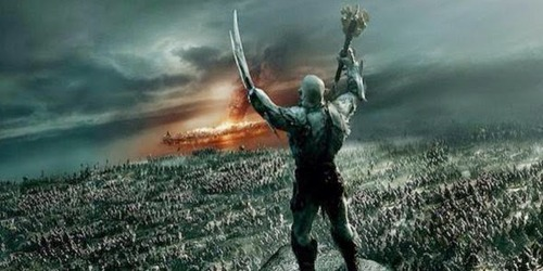 Azog Battle Five Armies