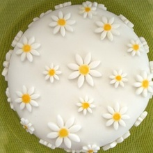 ¿Como decorar una tarta con fondant?