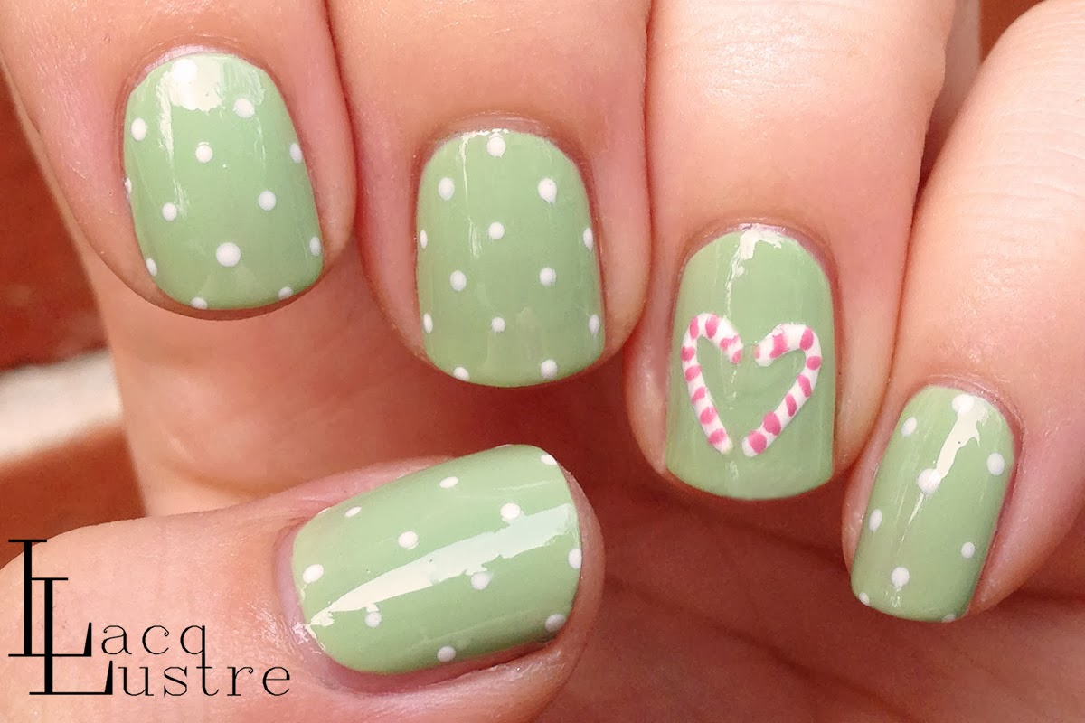 Christmas Nail Art Candy Cane Candy Cane Nail Art Ideas How To Make A Christmas Candy Cane Pict