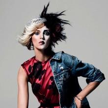 Anja Rubik for Vogue Paris