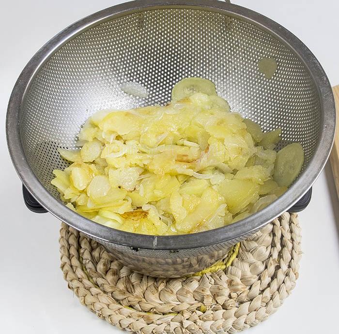 Escurrir Patatas